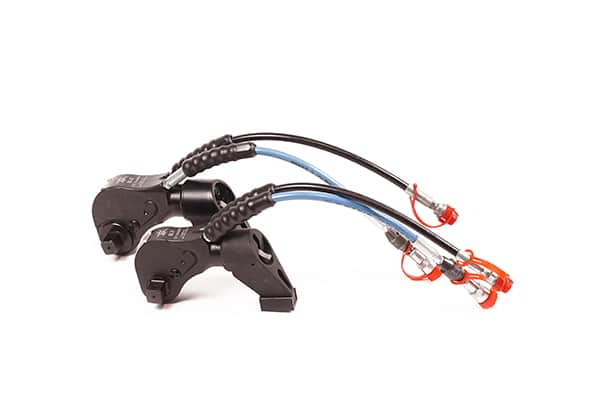 gama de llaves hidraulicas de par SL sobre fondo blanco