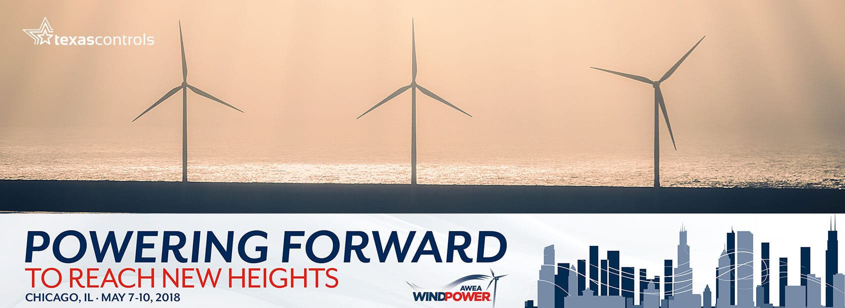 Texas Controls at AWEA WINDPOWER 2018