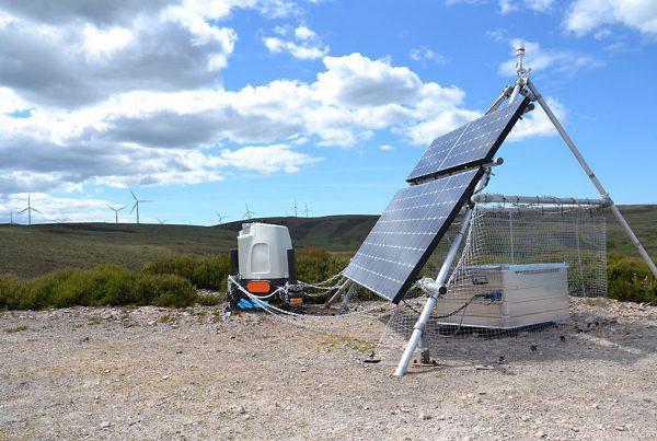 Vertical profiler ZX300 working on a wind farm